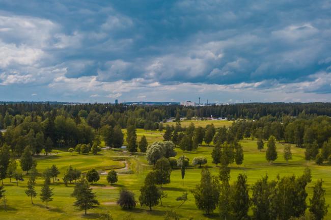 Golf-kenttien rakentaminen